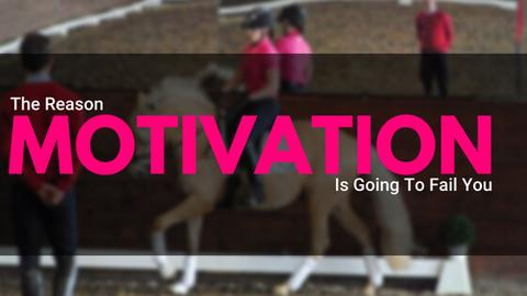 The reason motivation is going to fail you
